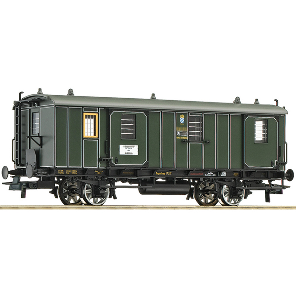 Roco 74902 Baggage coach K Bay Sts B