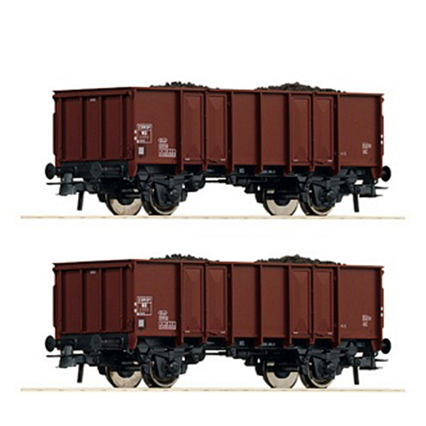 Roco 76136 2 piece set Open goods wagons NS