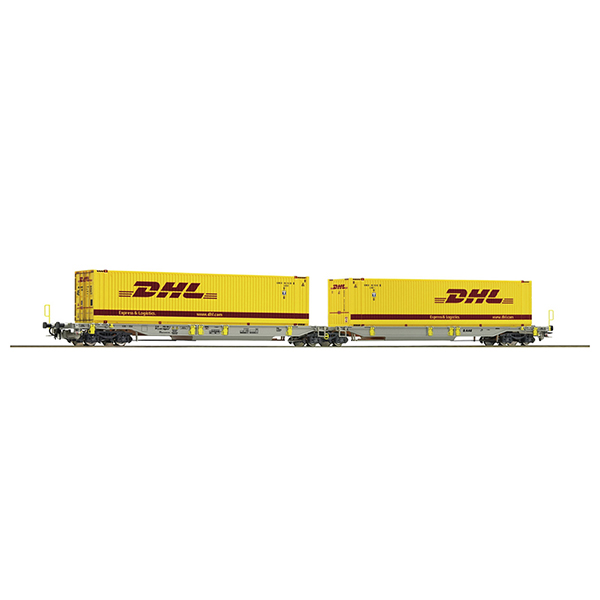 Roco 76421 Articulated pocket wagon AAE