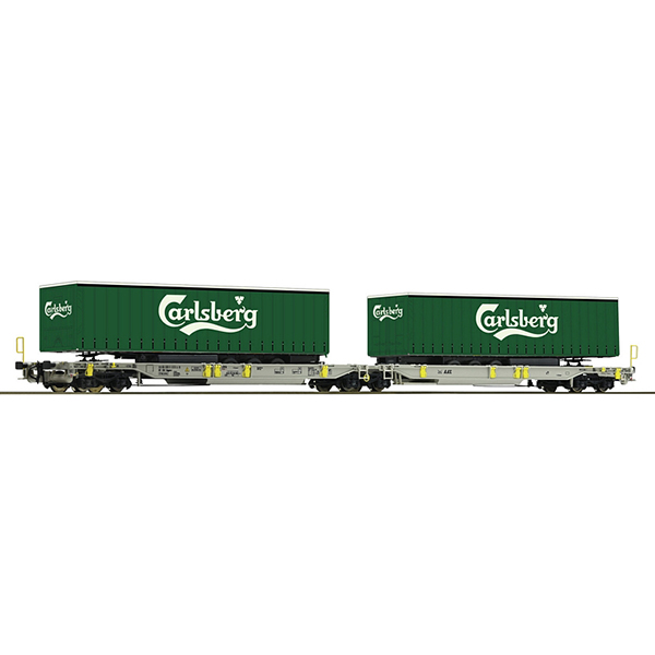 Roco 76432 Articulated double pocket wagon AAE