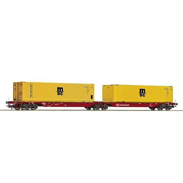 Roco 76630 Double carrier wagon unit DB Schenker
