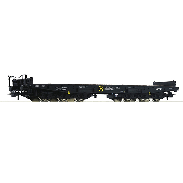 Roco 76956 Heavy duty flat wagon CD