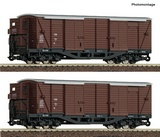 Roco 34583 2 piece set Covered good s wagons