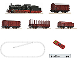 Roco 51318 Digital Starter Set Z21 Steam Locomotive Class 057 and Goods Train DB