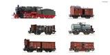Roco 61482 6 piece set Prussian goods train