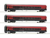 Roco 64191 3 Piece Set Railjet OBB
