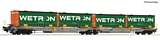 Roco 67401 Articulated double pocket wagon Wetron