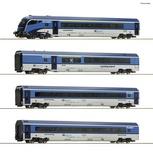 Roco 74064 4 piece set Railjet