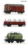 Roco 76018 3 piece set Goods train