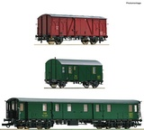Roco 76019 3 piece set Track mainte nance train