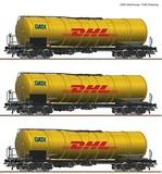 Roco 76029 3 piece set Tank wagons