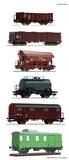 Roco 76030 6 piece set Goods train
