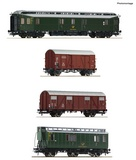 Roco 76036 4 piece set Post train