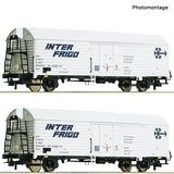 Roco 76040 2 piece set Refrigerator wagons