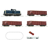 Roco 51299 Digital z21 start Set Diesel locomotive class 211 with freight train DB
