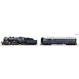 Roco 61473 2 piece set Steam locomotive S 3-6 and Prinzregenten coach K Bay Sts B