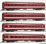 Roco 74109 4 piece set 1 Coaches Le Capitole SNCF