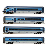 Roco 74142 4 piece set Railjet CD