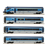 Roco 74144 4 piece set Railjet CD