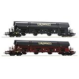 Roco 76135 2 piece set Self unloading wagons Grawaco