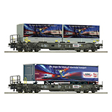 Roco 76198 2 piece set Pocket wagons