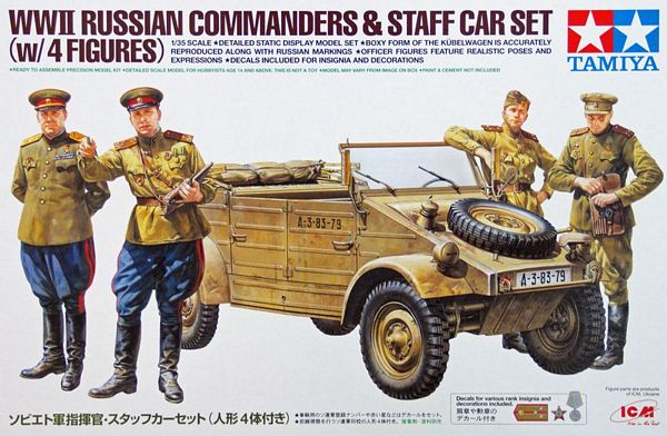 Tamiya 25153 Russian Commanders/Staff Car