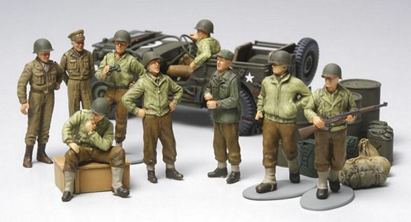 Tamiya 32552 WWII US Infantry At Rest