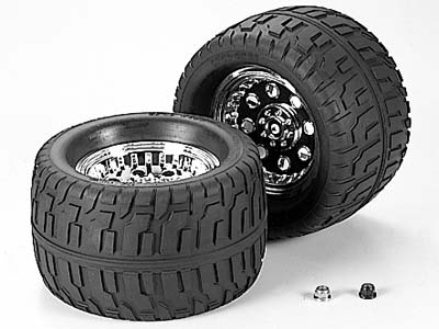 Tamiya 53498 RC GP Terra Crusher Road Tire TGM-02 144-85 Tire-Wheel 1pr