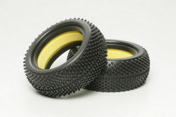 Tamiya 53878 RC Off Road Micro Pin Tires Front 62-25