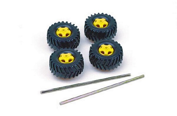 Tamiya 70101 Truck Tire Set