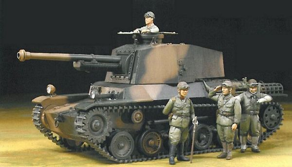 Tamiya 25107 Japanese Type 3 Medium Tank
