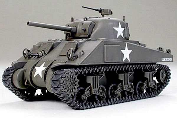 Tamiya 32505 U.S. Medium Tank M4 Sherman