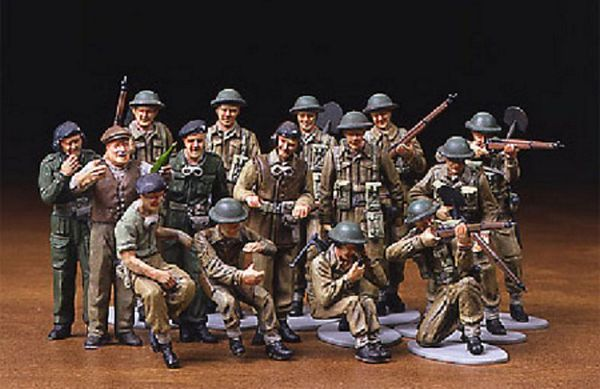 Tamiya 32526 British Infantry Set