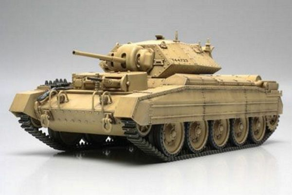 Tamiya 32541 British Crusader Mk I and II Tank