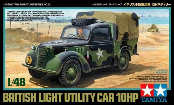 Tamiya 32562 British Small Staff Car 10HP
