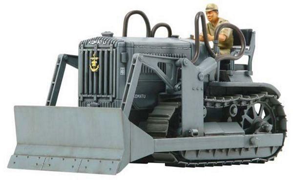 Tamiya Models Komatsu G40 Bulldozer Model Kit