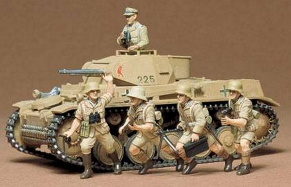 Tamiya 35009 German Pzkpfw II Kit