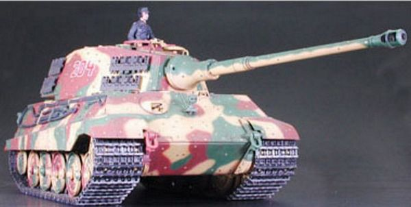 Tamiya 56018 RC King Tiger Product Turret