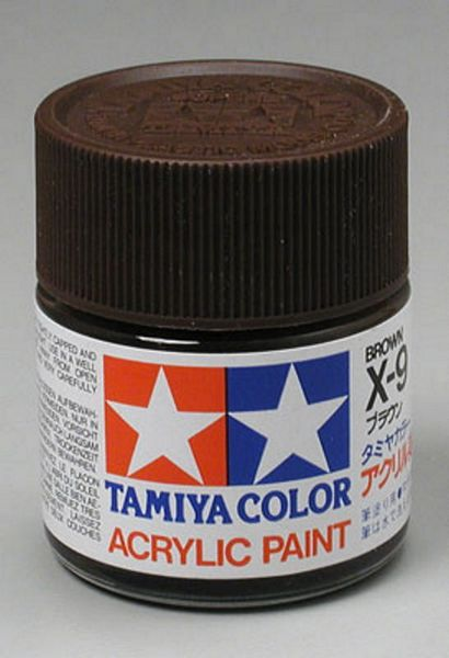 Tamiya 81009 Acrylic X-9 Brown