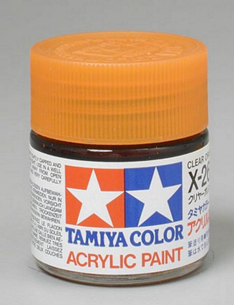 Tamiya 81026 Acrylic X-26 Clear Orange