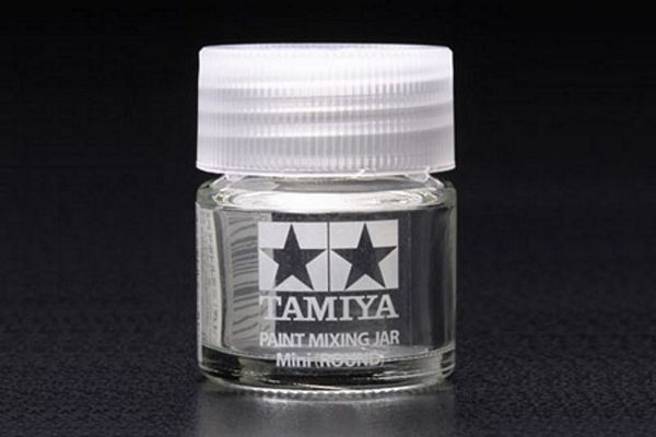 Tamiya 81044 Spare Bottle Mini Round