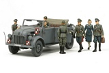 Tamiya 25149 German Steyr 1500A with 7 Figures