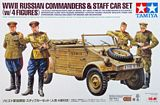 Tamiya 25153 Russian Commanders Staff Car with 4 Figures