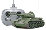 Tamiya 48208 RC Russian Med Tank T34 85 with 4ch Transmitter