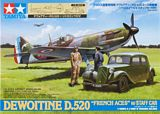 Tamiya 61109 Dewoitine D.520 French Aces