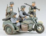 Tamiya 35016 German BMW R75 with Side Car Kit CA116
