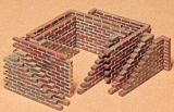 TAMIYA 35028 Brick Wall Set Kit