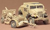 Tamiya 35044 British 25 Pndr Gun/Quad Kit