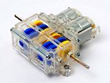 Tamiya 69912 Double Gearbox 4-Speed Clear