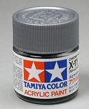Tamiya 81011 Acrylic X-11 Chrome Silver 23ml Bottle